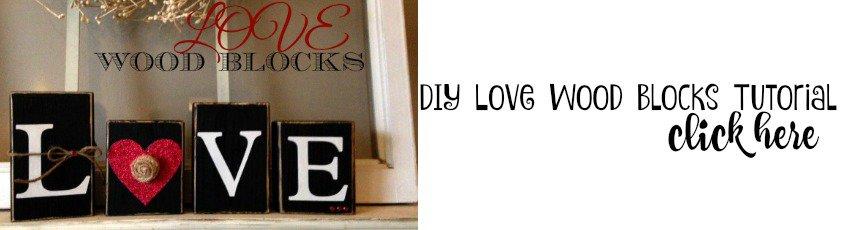 DIY Love Wood Blocks - housewivesofriverton.com