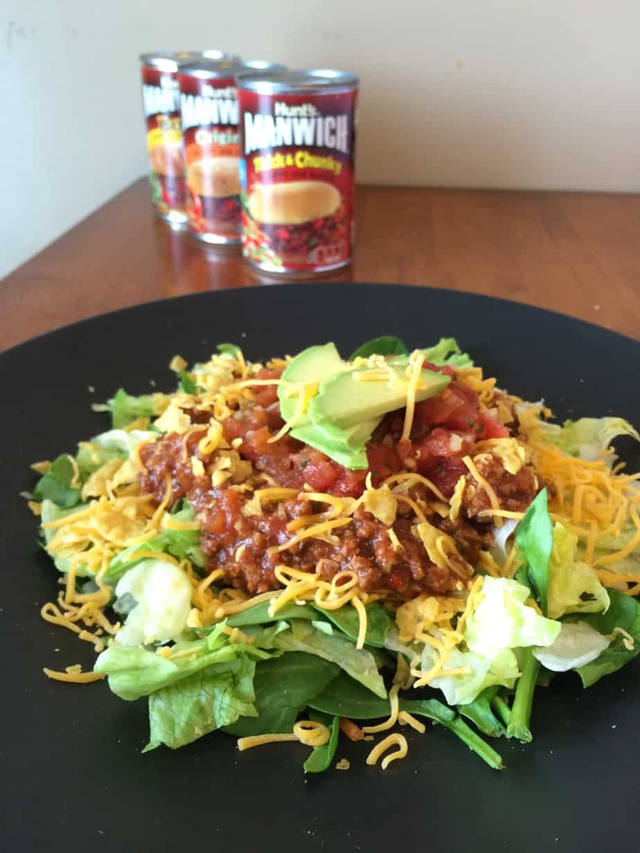 Sloppy Joe Taco Salad