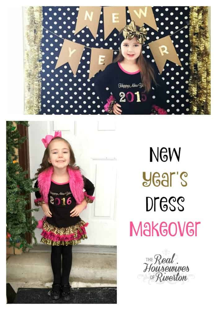 DIY New Year's Dress Makeover
