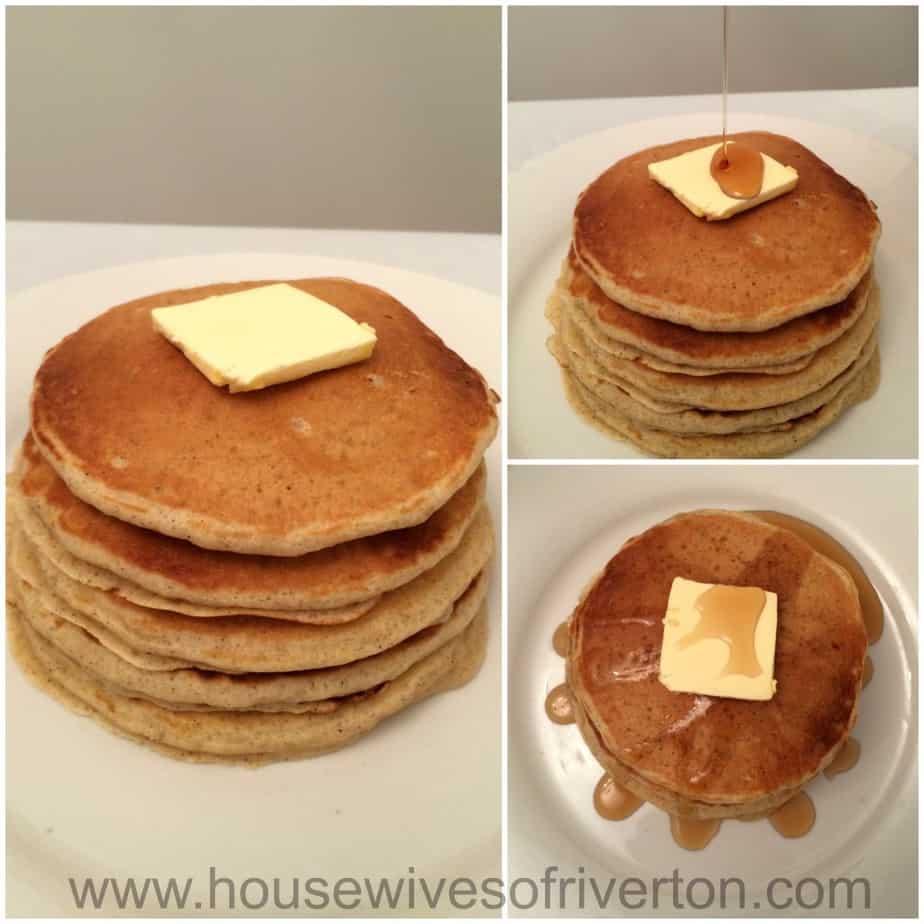 Cinnamon Buttermilk Pancakes | www.housewivesofriverton.com