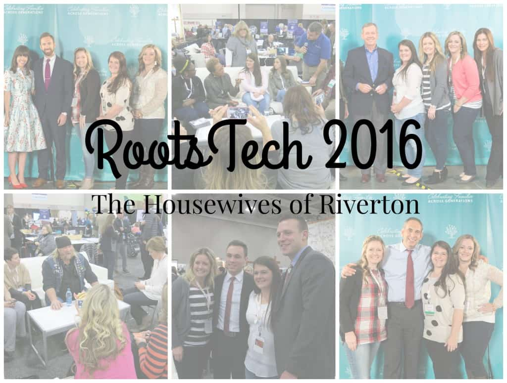 RootsTech 2016 Recap | www.housewivesofriverton.com