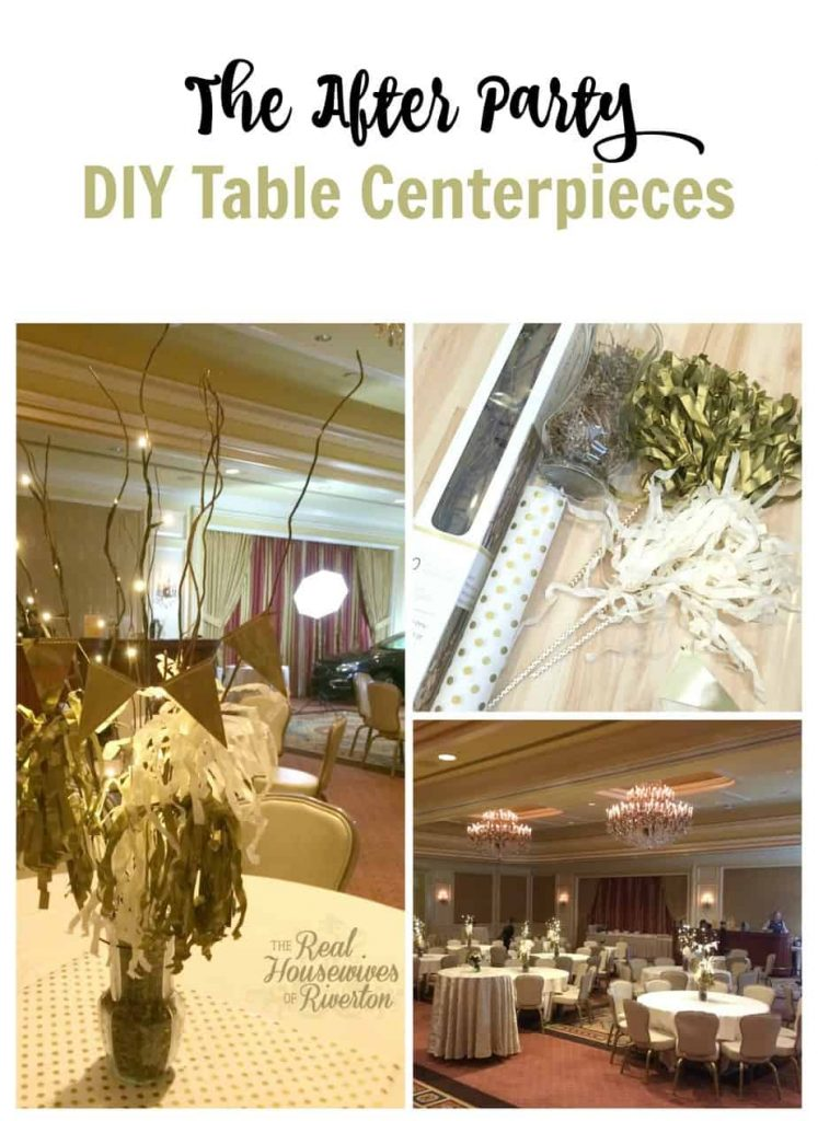 The After Party DIY Table Centerpieces