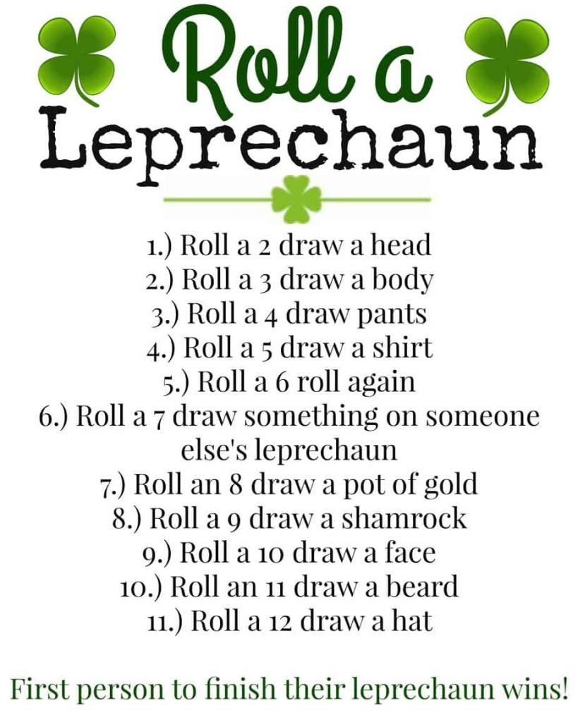 Roll A Leprechaun   www.housewivesofriverton.com