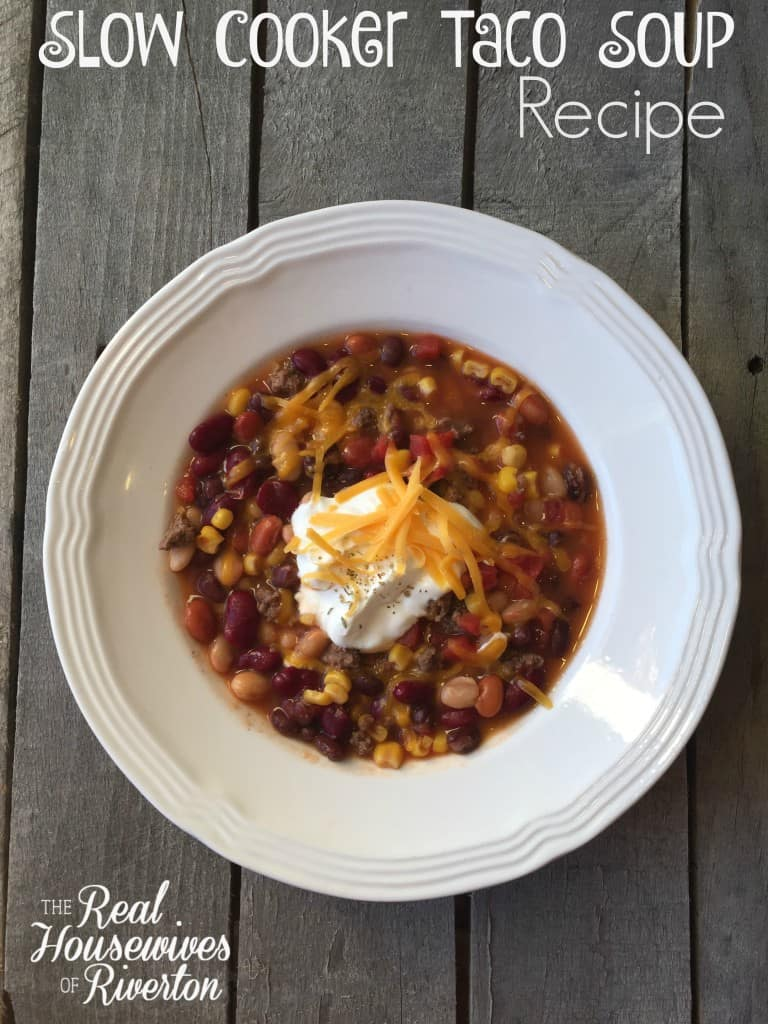 Taco Soup Recipe - housewivesofriverton.com