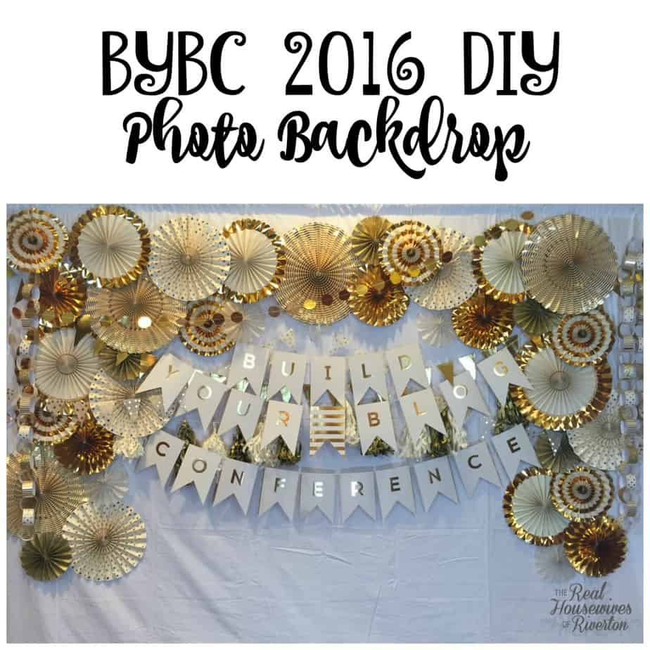 BYBC 2016 DIY Photo Backdrop