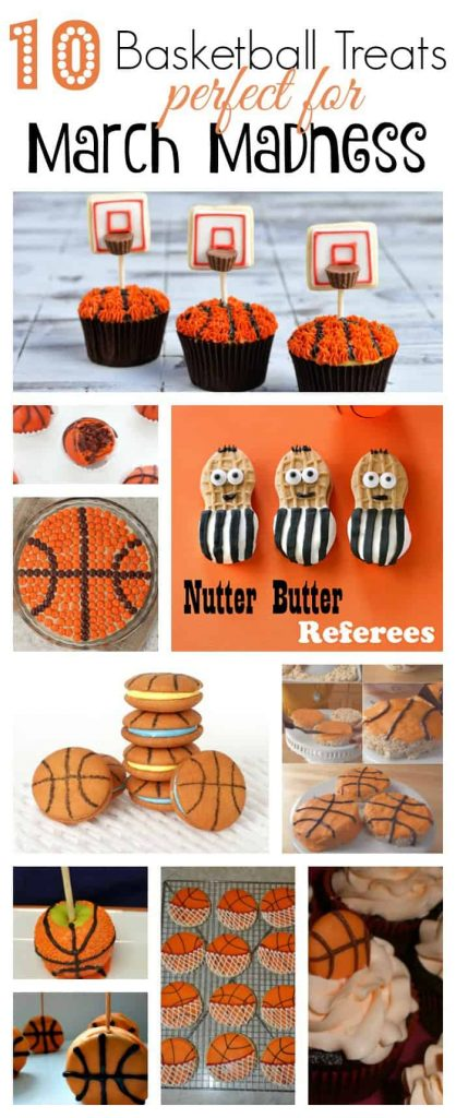 10 Basketball Treats Perfect for March Madness