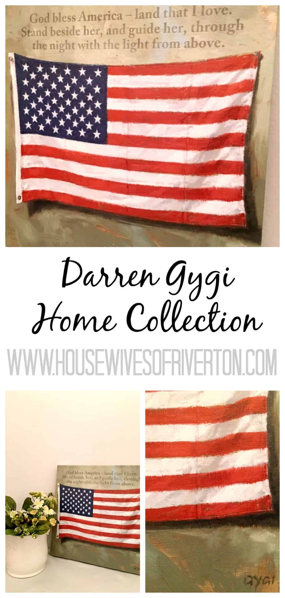 Darren Gygi Home Collection Perfect gifts for Mother's Day!! Discount code and a giveaway! | www.housewivesofriverton.com