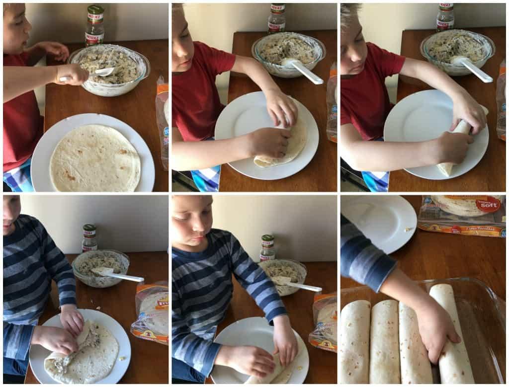 Baked Salsa Chicken Flautas | www.housewivesofriverton.com