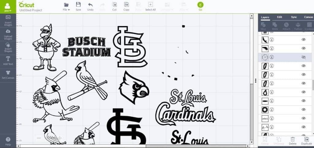 DIY Baseball Shirts with Cricut Explore - housewivesofriverton.com