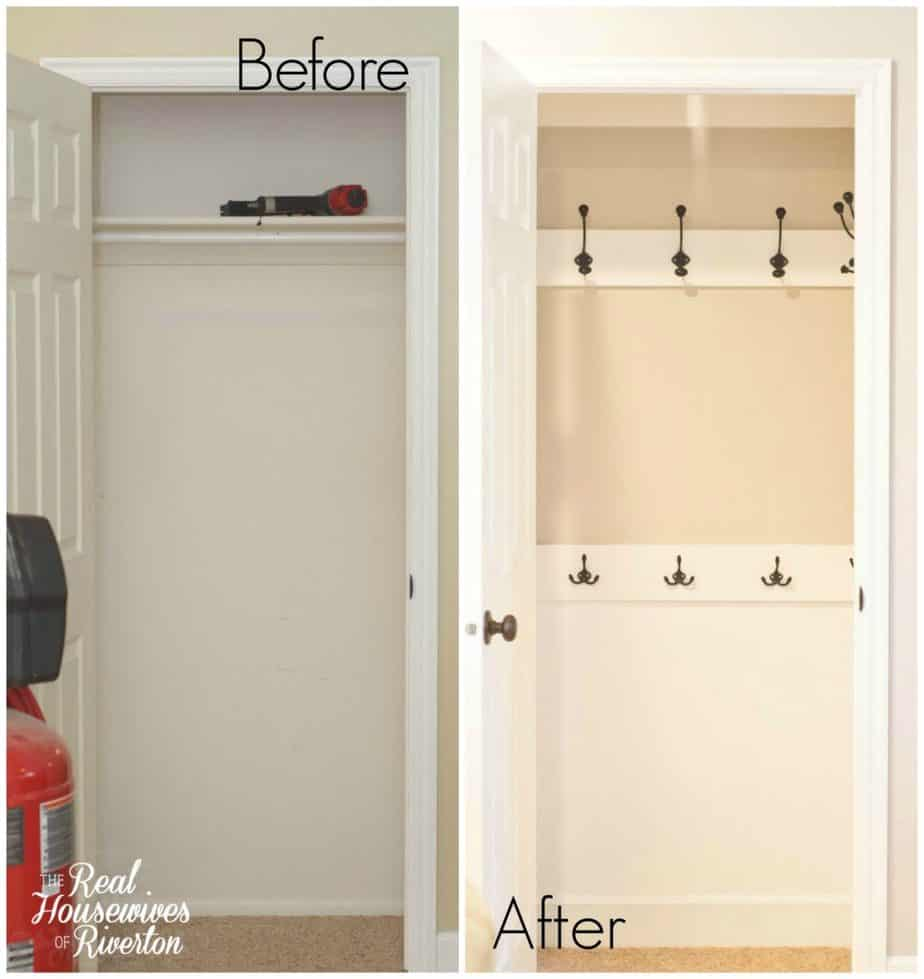 Coat Closet Makeover Housewivesofriverton