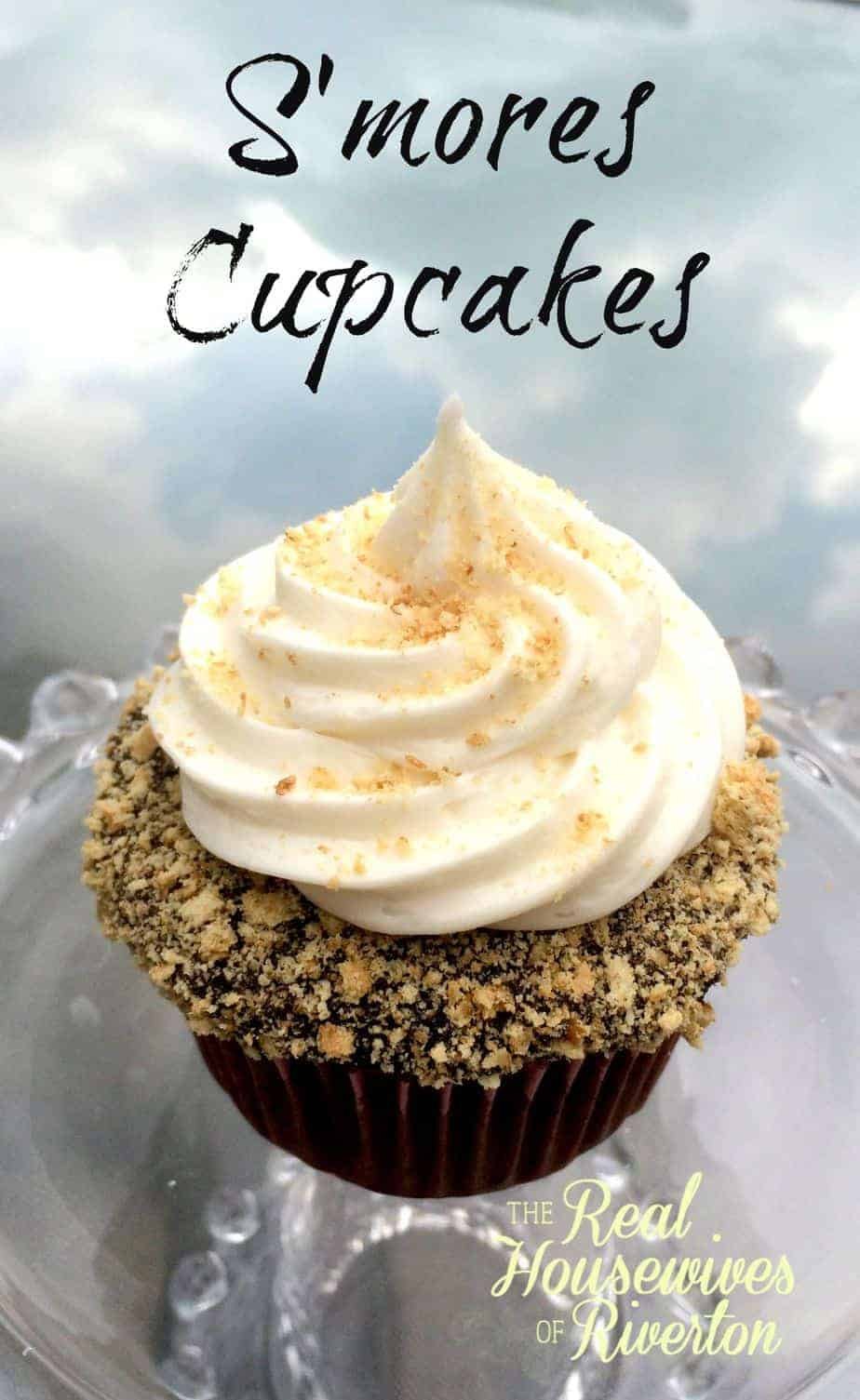 S'mores Cupcakes | www.housewivesofriverton.com
