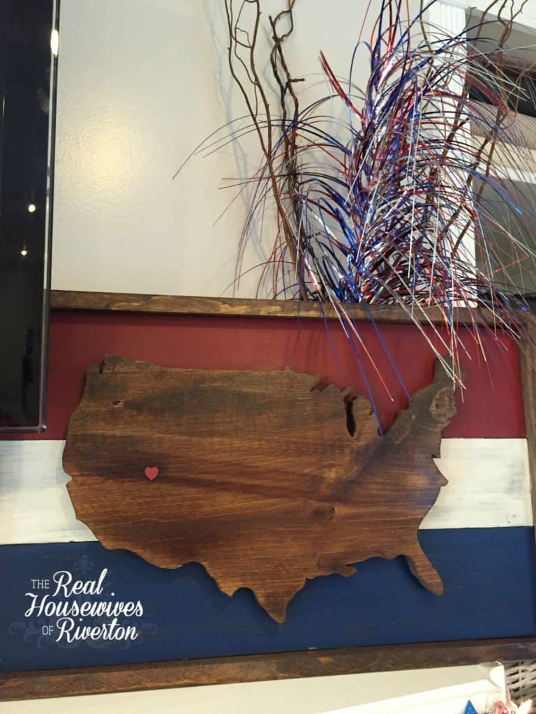 United States of American Wood Sign Tutorial - HousewivesofRiverton.com