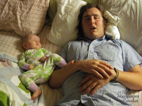 father-and-baby-cosleeping-460x345