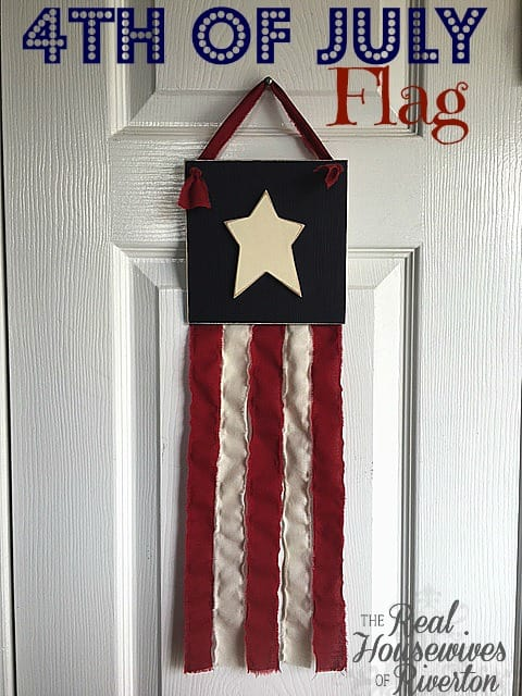 4th of July Flag Tutorial