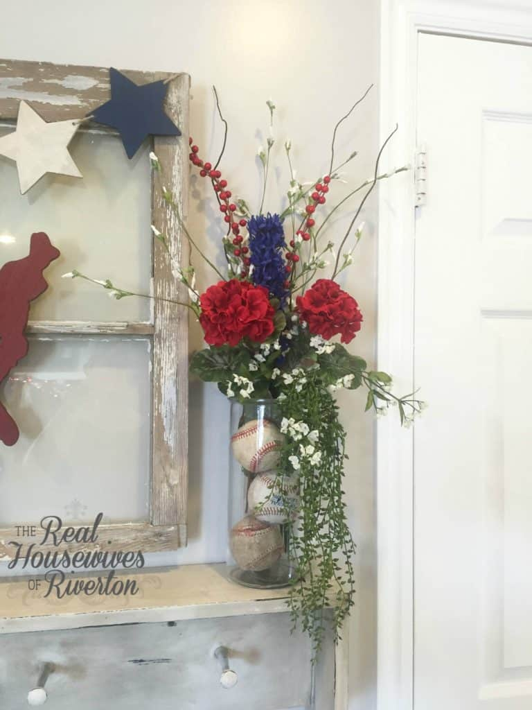 All American Floral Arrangement - housewivesofriverton.com