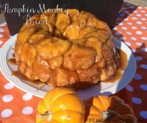 Pumpkin Monkey Bread Recipe | www.housewivesofriverton.com