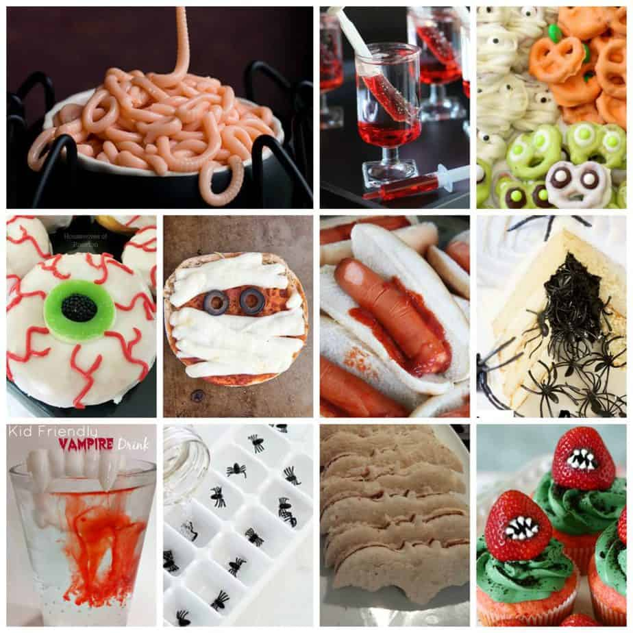 Kid Friendly Creepy Halloween Foods