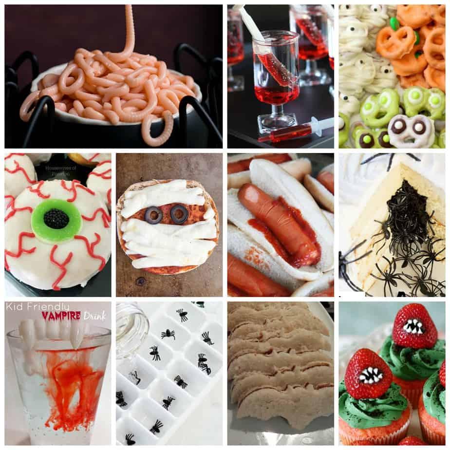 11 kid friendly creepy halloween foods - housewives of riverton