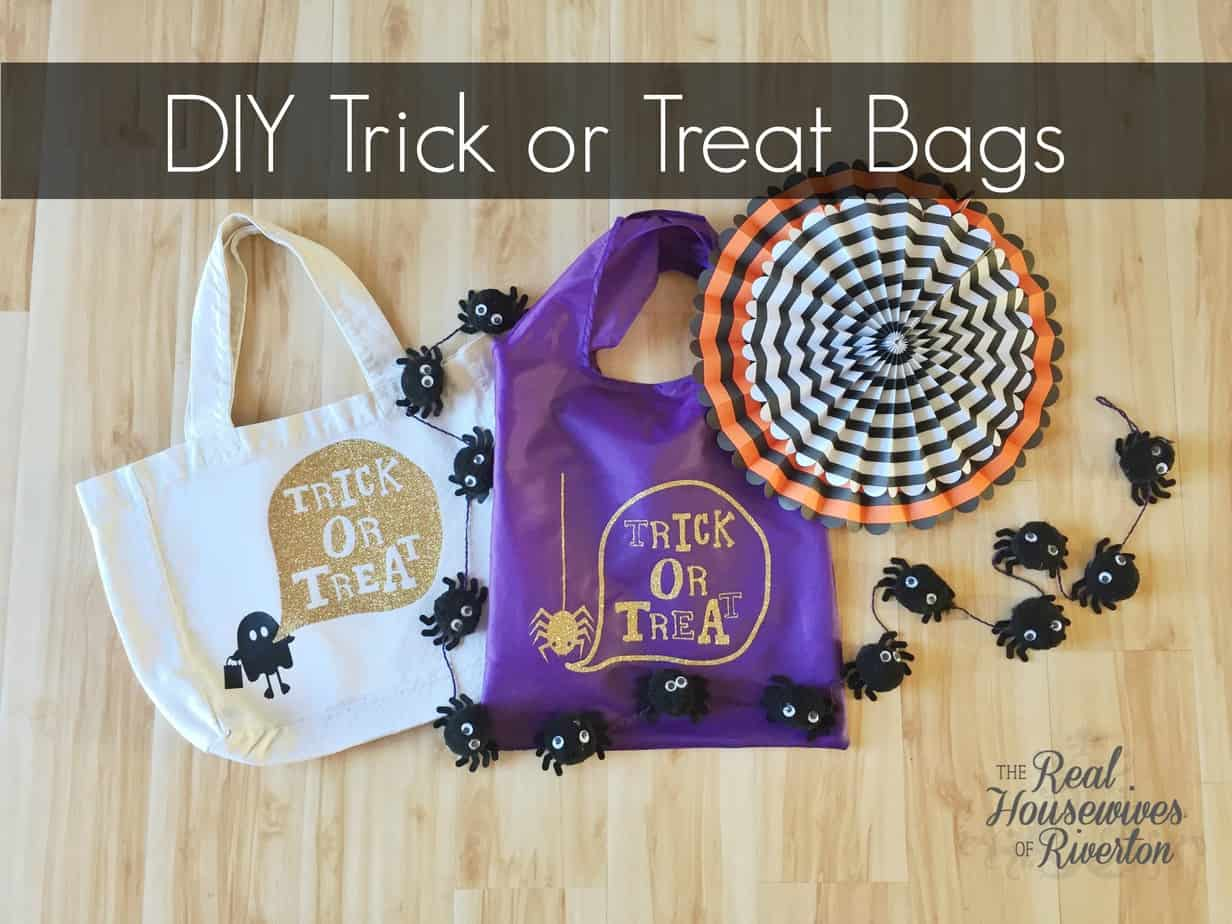 diy trick or treat bags a giveaway of riverton