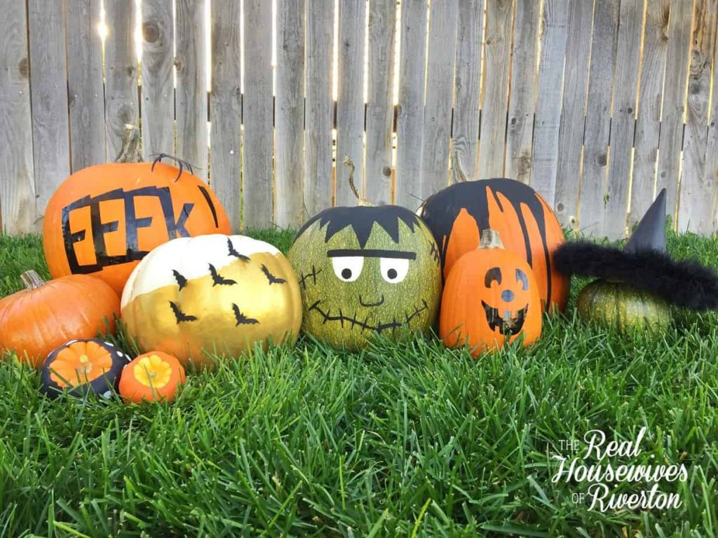 No-Carve Pumpkin Ideas – Front Porch Fun