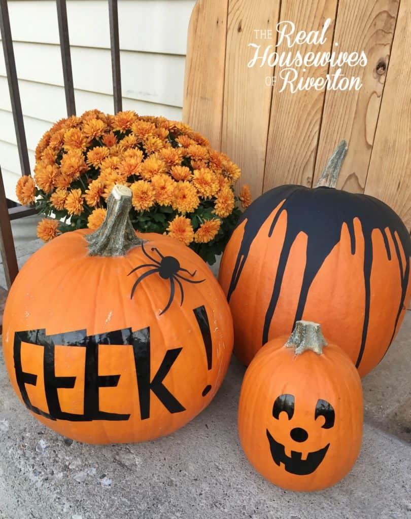 no-carve pumpkin ideas - housewivesofriverton.com