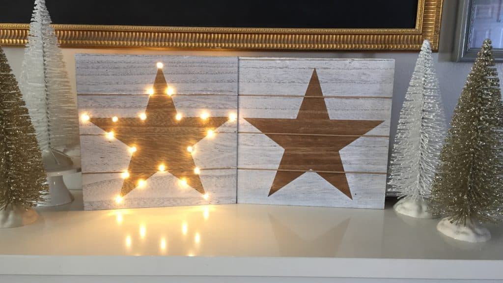 DIY Lighted Star - HousewivesofRiverton.com