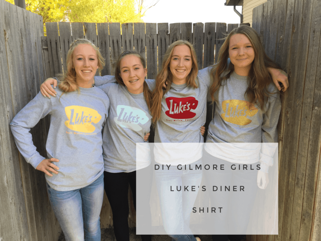 DIY Gilmore Girls Luke's Diner Shirt - housewivesofriverton.com