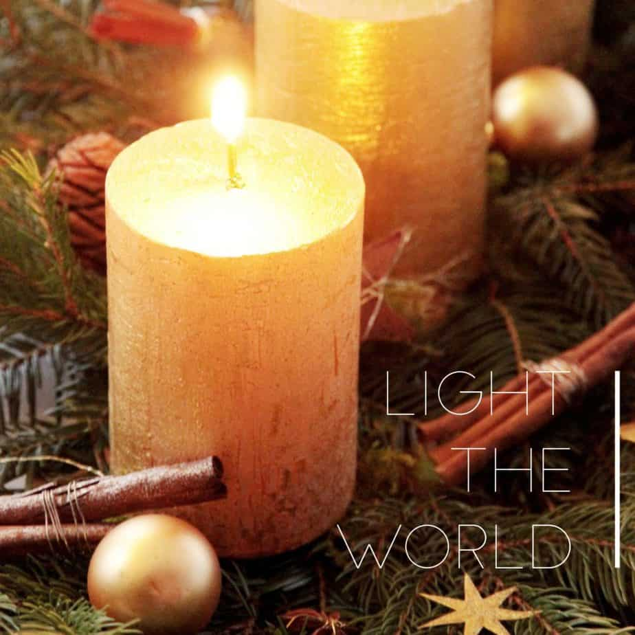 #LIGHTtheWORLD