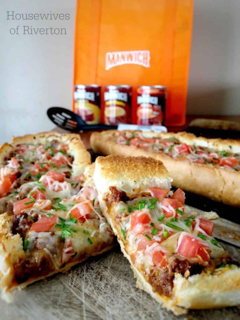 Manwich Stuffed French Bread | www.housewivesofriverton.com