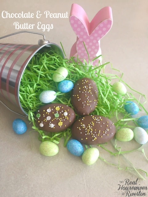 Peanut Butter and Chocolate Eggs