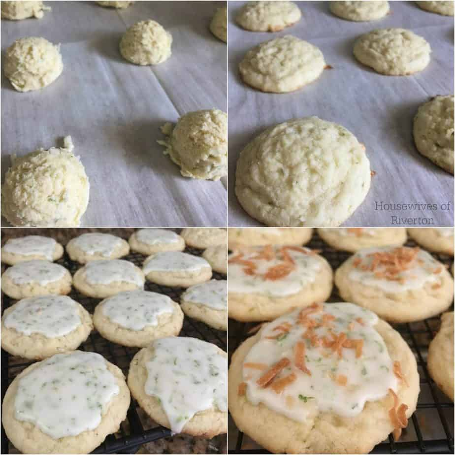 These Coconut Lime Cookies are always a good idea when you have some extra limes hanging around! | www.housewivesofriverton.com