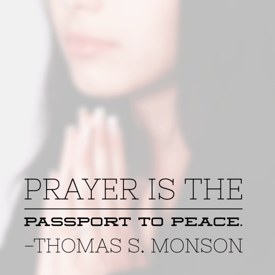 Principles of Peace – Prayer #PrinceOfPeace