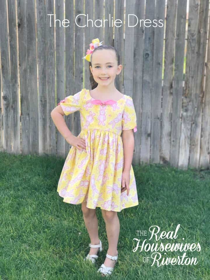 The Charlie Dress Sewing Pattern Review