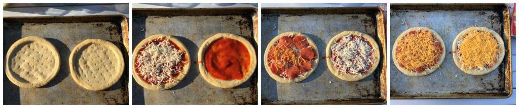 Build Your Own Pizza with Camp Chef.  The Artisan Accessory Oven is perfect for enjoying your favorite baked items outdoors! | www.housewivesofriverton.com