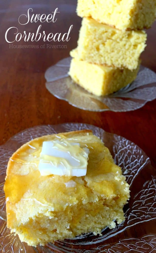 Homemade Sweet Cornbread