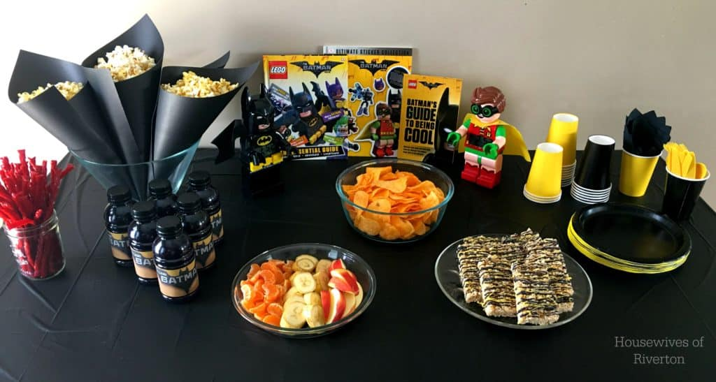 The LEGO Batman Movie is coming out on digital release through iTunes on May 19th! Make a fun, Family Movie Night out of the release with these fun ideas!