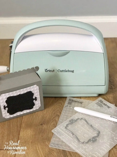 Happy Birthday Box with Cricut and Cuddlebug - housewivesofriverton.com