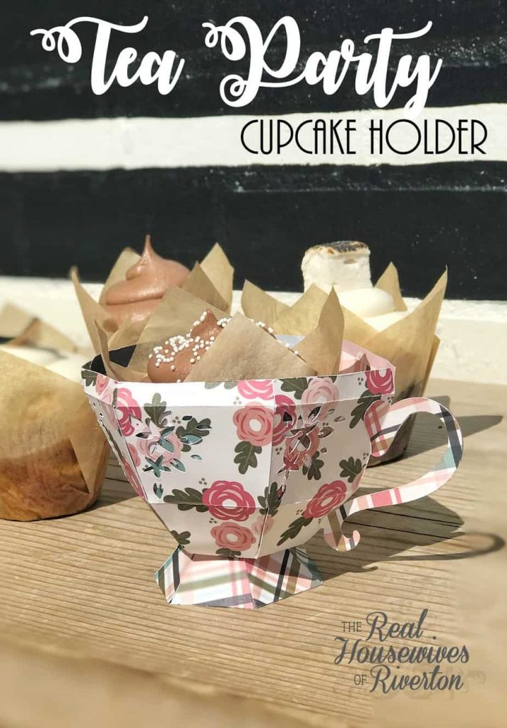 Tea Party Cupcake Holder – Cricut Maker