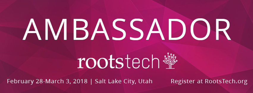 Why We RootsTech – Giveaway