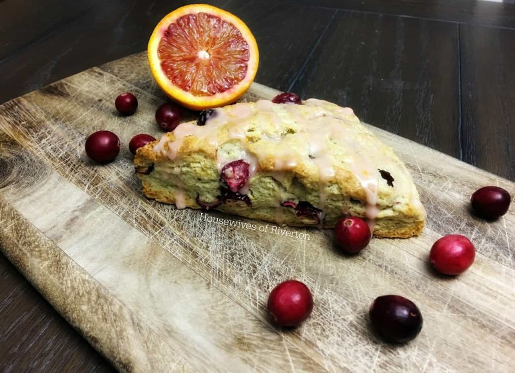 Cranberry Blood Orange Scones
