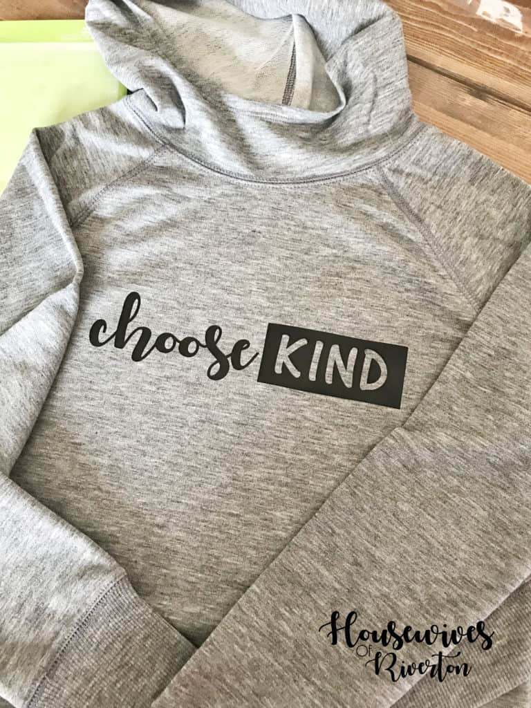 choose kind shirt tutorial - housewivesofriverton.com