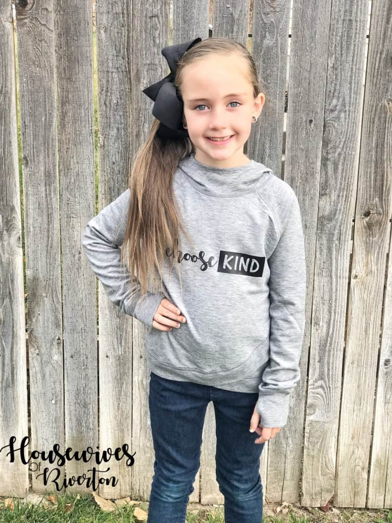Choose Kind shirt tutorial - housewivesofriverton.com