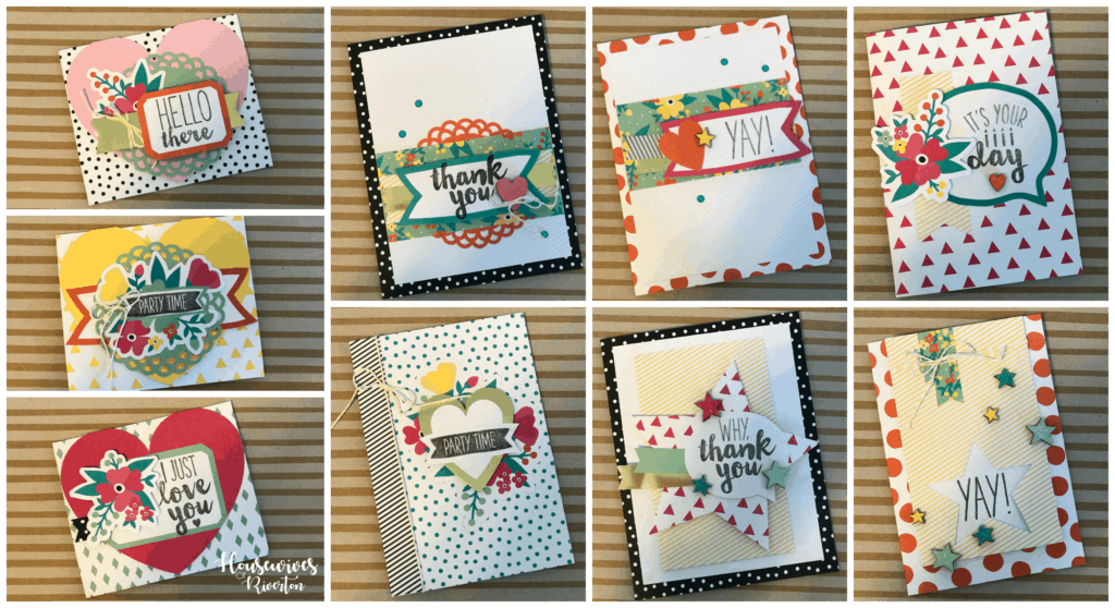 DIY Cards with Stampin' UP - HousewivesofRiverton.com