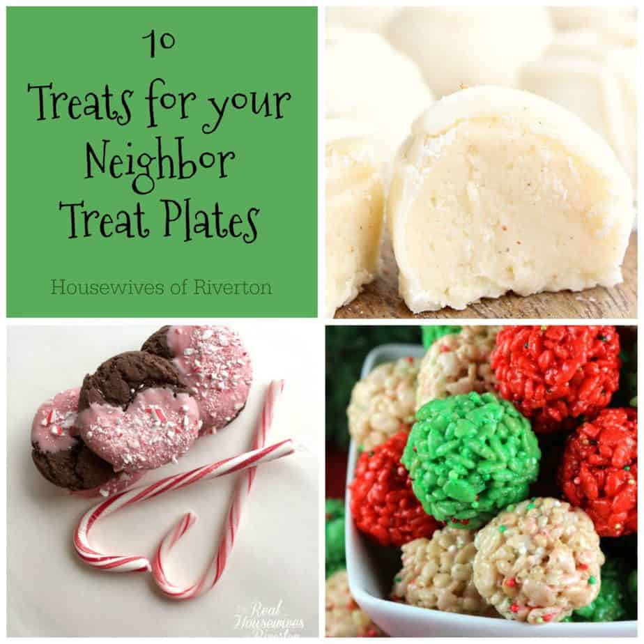 We've rounded up 10 perfect treats to make your neighbor treat plates the hit of the neighborhood! | www.housewivesofriverton.com