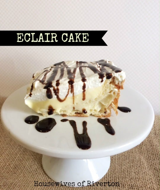 Homemade Eclair Cake Recipe