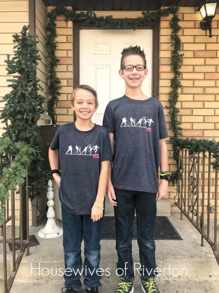 DIY Olympic Winter Games Shirts - housewivesofriverton.com