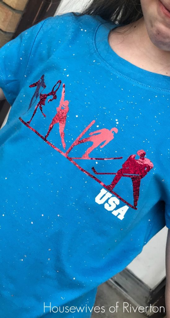 DIY Olympic Winter Games Shirts