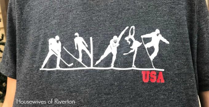 DIY Olympic Winter Games Shirts