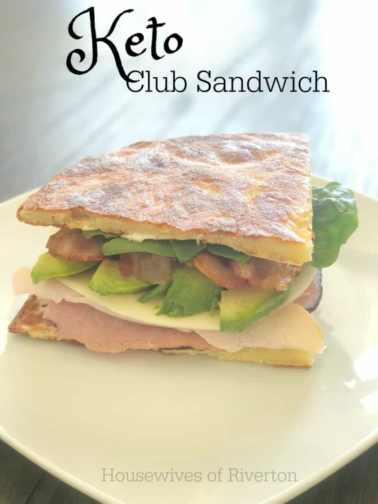 Keto Club Sandwich | www.housewivesofriverton.com