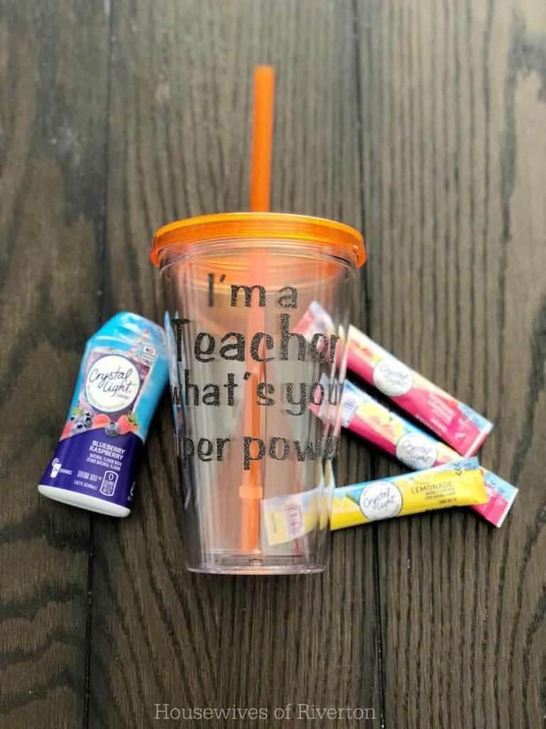 Teacher Appreciation Cups